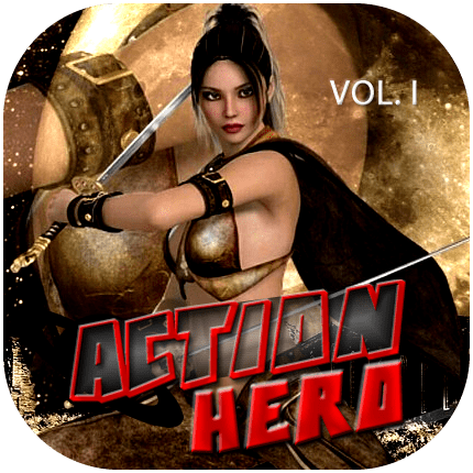 Cover zu Action Hero Vol.1